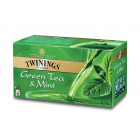 TWININGS GREEN TEA AND MINT 50G