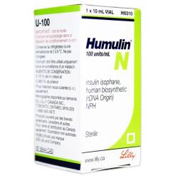 Humulin N 100 iu/ml 10 vial