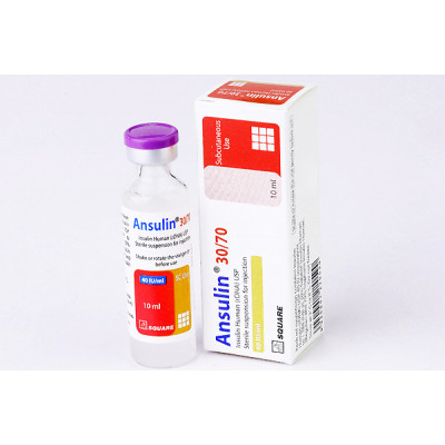 Ansulin 30/70 40IU (10ml) Injection