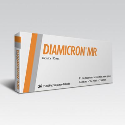 DIAMICRON MR 30 mg Tab