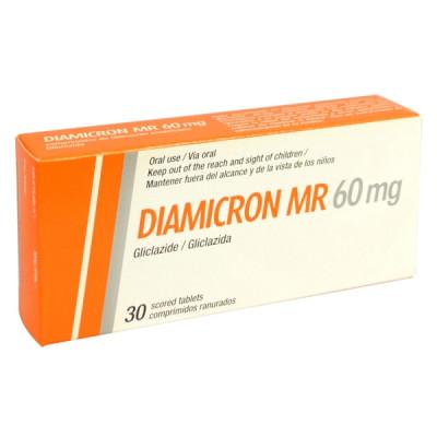 DIAMICRON MR 60 mg Tab