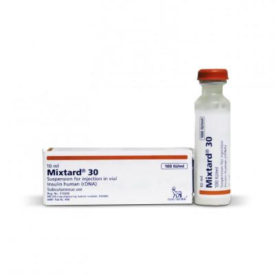 Mixtard 30  100 IU  (1 vial)
