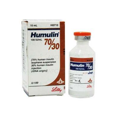 Humulin70/30 100 iu/ 10 ml Vial