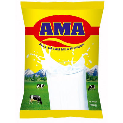Ama Full Cream Milk Powder 500 gm