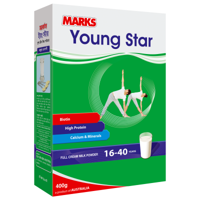 Marks Young Star Milk Powder 400 gm