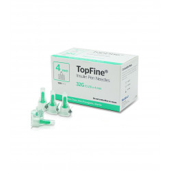TopFine Insulin Pen Needles 4mm(32G)
