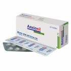 Anxionil 3 mg Tablet, 1 strip