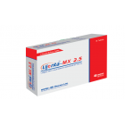 Lijenta-MX 2.5 mg+1000 mg Tablet, 1 Strip