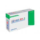 Lijenta-MX 5 mg+1000 mg Tablet, 1 Strip
