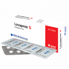 Lovapres 5mg Tablet, 1 Strip