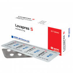 lovapres-5mg-tablet, 1 strip