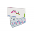 Montiva 5 mg Tablet, 1 strip