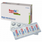 Rupatid 10 Tab, 1 strip