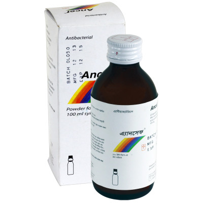ANCEF 100ml Susp.
