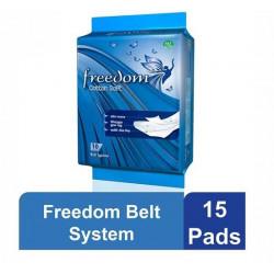 Freedom Belt System (Economy Pack) - 15 Pads