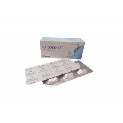 Calboral-D Tablet 500 mg+200 IU