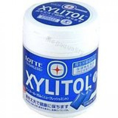 LOTTE XYLITOL SUGAR FREE CHEWING GUM