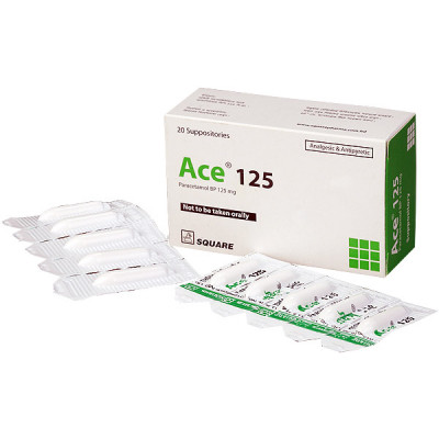 Ace 125 Suppository