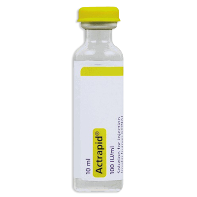 Actrapid 100 IU (1 vial)