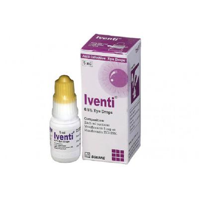 Iventi 0.5% Eye Drops 5 ml drop