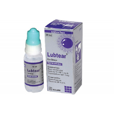Lubtear Eye Drops 10 ml drop