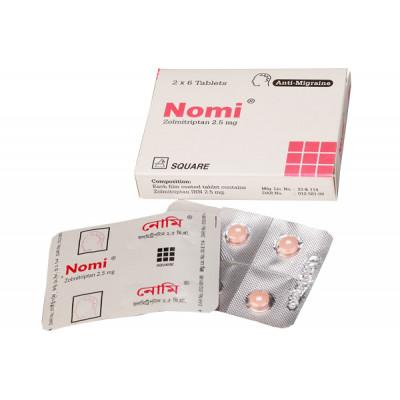 Nomi 2.5 mg tablet