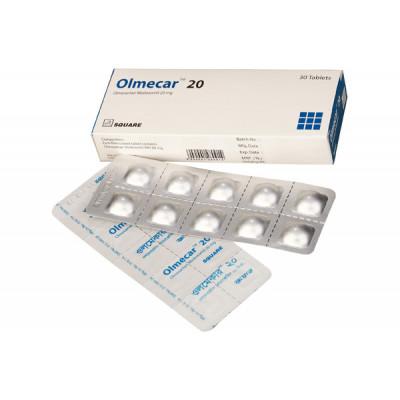 Olmecar 20 mg Tablet