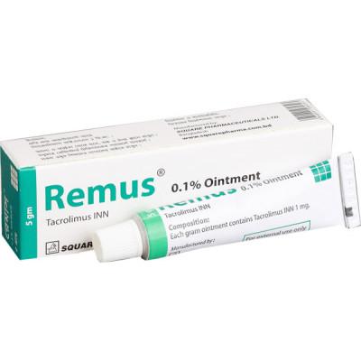 Remus 0.1% Ointment 10 gm tube