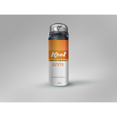 Kool Deodorant Body Spray (Ignite) - 150ml