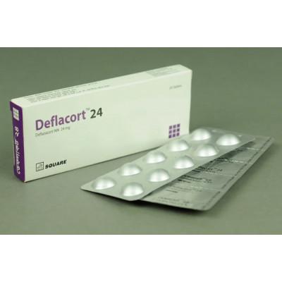 Deflacort 24 mg Tab
