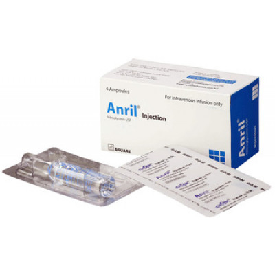 Anril 50 mg/10 ml injection 4's pack