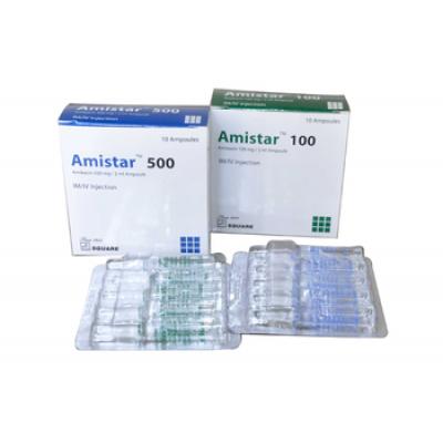 Amistar (Inj) 100mg amp./injection