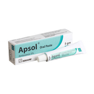 Apsol 5 gm Oral Paste