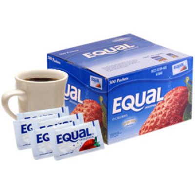 EQUAL SWEETENER- 50 Packets