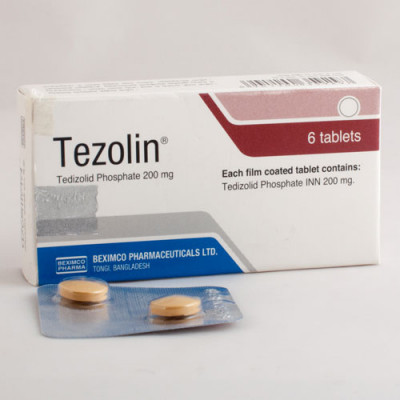 Tezolin 200 mg Tablet 6's pack